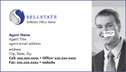 Agent Business Card - Design 106BC